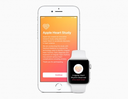 Stanford Medicine Says Apple Watch Detects Irregular Heart Beat Rate