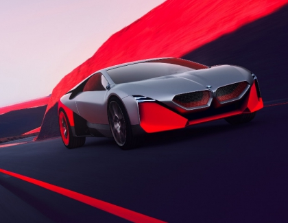 BMW Unveils the Vision M Next Self-driving Hybrid
