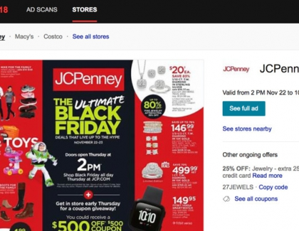 Bing Offers Black Friday Search in Shopping