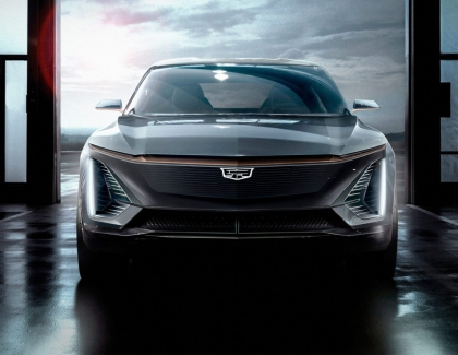 Cadillac Shows Brand's First Fully Electric EV