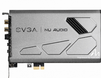 EVGAs First Sound Card Nu Audio Released For 250