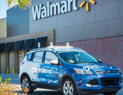 Walmart and Ford to Test Grocery Delivery with Self-Driving Cars