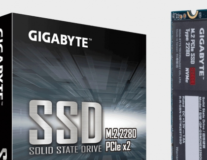 GIGABYTE to Showcase PCIe 4.0 M.2 SSD and OLED Aero Laptops at Computex
