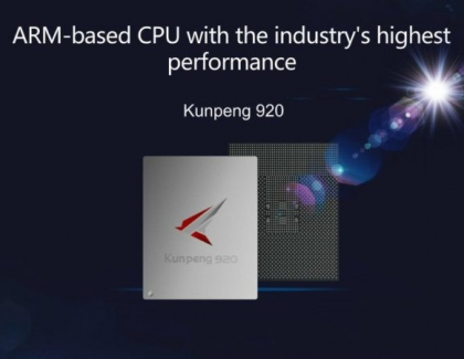 Huawei Launches Server Chipset