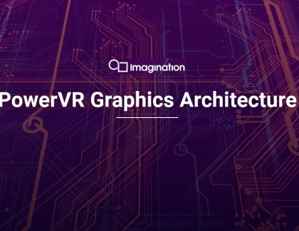 Imagination's PowerVR PVRIC4 Image Compression Technology for GPUs Reduces Memory Footprint