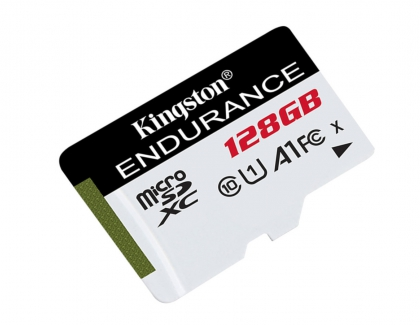 Kingston Introduces New High Endurance microSD Cards