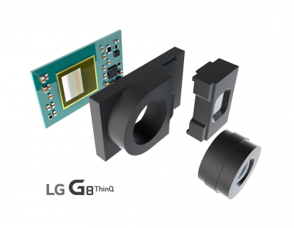 LG Confirms New LG G8 THINQ Smartphone WIll Have a Front-facing 3D ToF Camera
