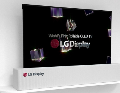 LG to Sell Rollable TVs in 2019