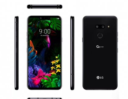 LG G8 ThinQ Leak Shows Phone's Design