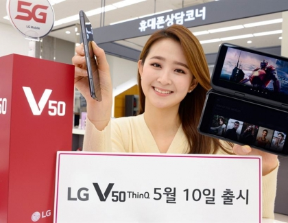 LG launches the 5G-enabled V50 ThinQ Smartphone With High Expectations
