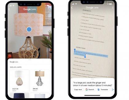 Google Lens Enhanced, Recognizes More than one Billion Products