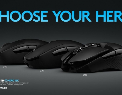 Logitech G Expands HERO 16K Sensor to New Line-Up of Gaming Mice