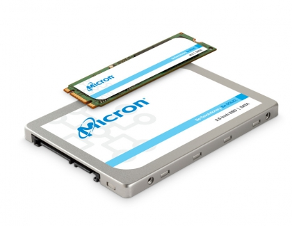 Micron Releases 96-layer TLC 3D NAND-based Micron 1300 SATA SSD