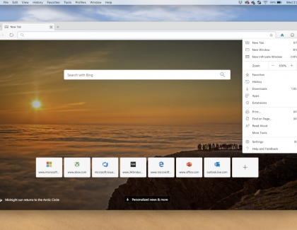 Microsoft Releases Edge Preview Builds for macOS