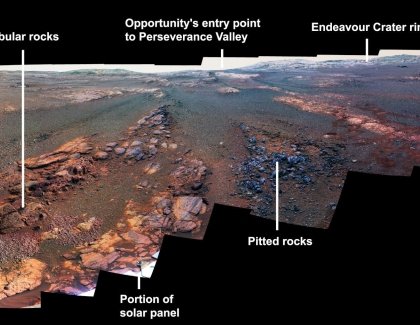 Nasa Releases Panorama Photo of Mars