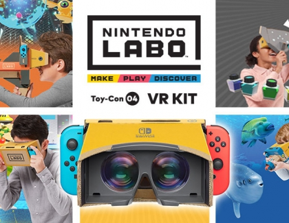 Nintendo Labo VR Kit Available at select Best Buy stores