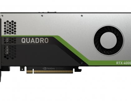 Nvidia Introduces the Quadro RTX 4000 - More Turing Silicon to Designers