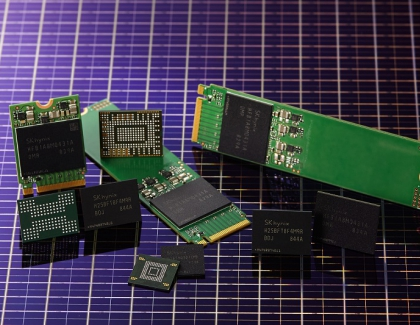 SK hynix Develops First 4D NAND Flash