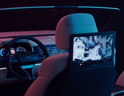 Samsung and Harman Showcase Their Digital Cockpit 2019