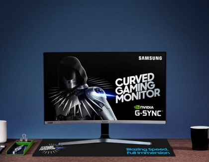 Samsung Introduces 27-inch, 240Hz G-SYNC Compatible Curved Gaming Monitor CRG5