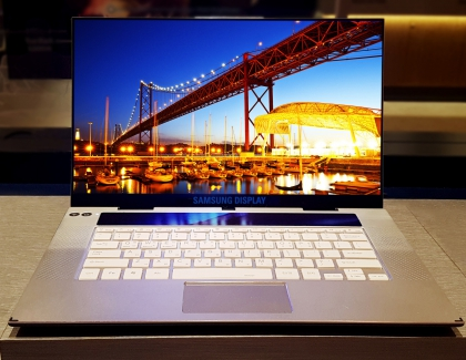 Samsung 15.6-inch UHD OLED Display For Laptops Enters Mass Production