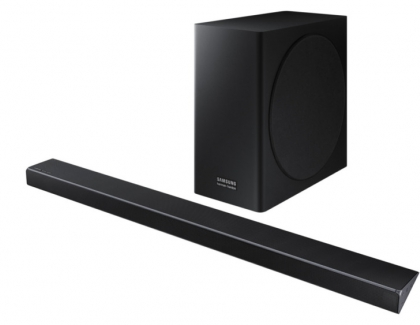 Samsung  Q Series Soundbars are Optimized for QLED TVs