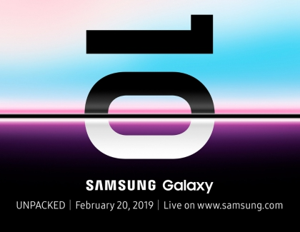 Samsung to Unpack the Galaxy S10 on February 20