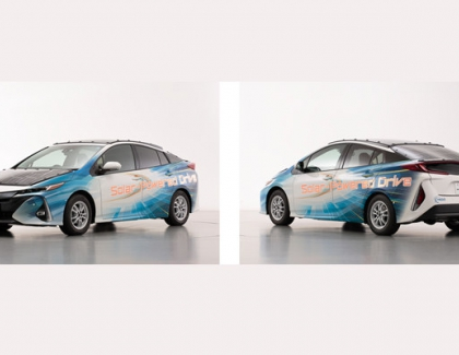NEDO, Sharp, and Toyota to Begin Road Trials of Electrified Vehicles Equipped with Solar Batteries