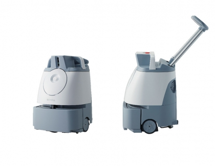 SoftBank's New Robot After Pepper Mops Floors