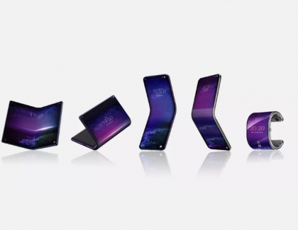 TCL's Foldable Phone Bends Into a Smartwatch