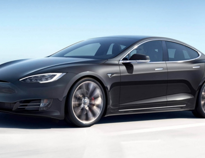 Driver Caught Sleeping Behind His Tesla Model S Wheel Cruising at 70 mph