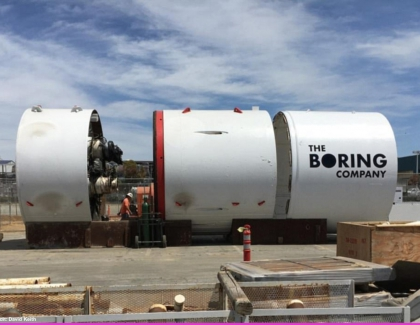Elon Musk Unveils Los Angeles-area Tunnel