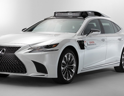 Toyota Rolls-out Upgraded P4 Automated Driving Test Vehicle at CES