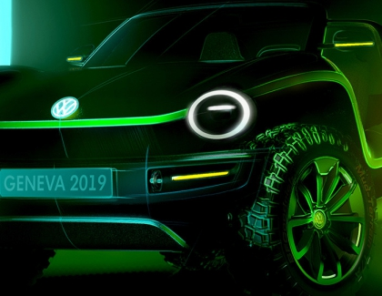 The Volkswagen Buggy Goes Electric at the Geneva International Motor Show