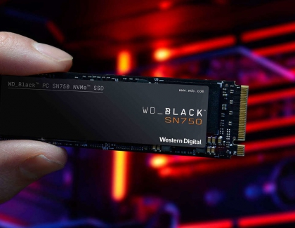 New WD Black SN750 NVMe SSD Comes With EKWB Heatsings For PC Gaming