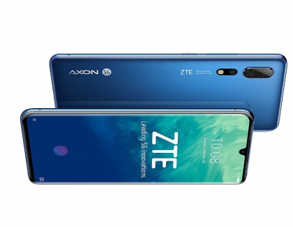 ZTE Launches the ZTE Axon 10 Pro 5G Smartphone in China