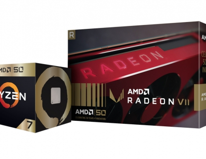 AMD Releases 'Gold Edition' AMD Ryzen Processor, AMD Radeon VII Graphics Card, AMD50 Game Bundle and More