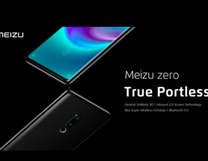Meizu Zero Portless Smartphone Launched in China