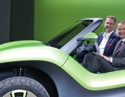 VW Merges Old and New With Electric Buggy
