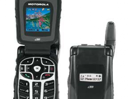 Motorola i560 Rugged Nextel Phone Announced