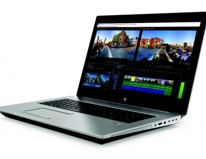 HP Arms ZBooks with Intel Core i9 Processors