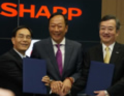 Hon Hai, Sharp To Build Massive LCD TV Plant In China