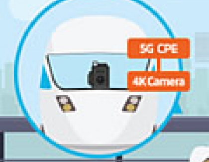 KDDI and Samsung Demonstrate 5G on a Train Moving at 100kmh