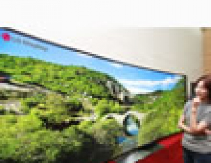 Samsung, LG to unveil 105-inch curved TVs At CES