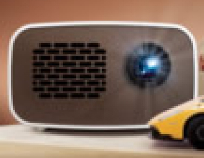 LG Ultra-Portable HD MiniBeam Projector Features Built-in Battery