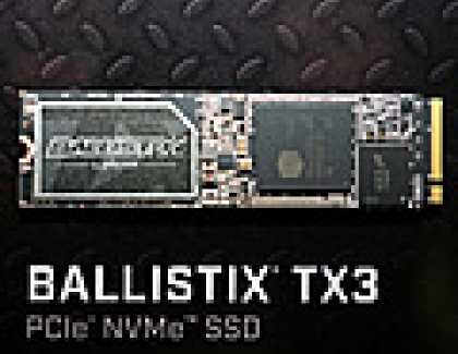 Micron Showcases 3D NAND-based Ballistix TX3 And Crucial MX300 SSDs at Computex