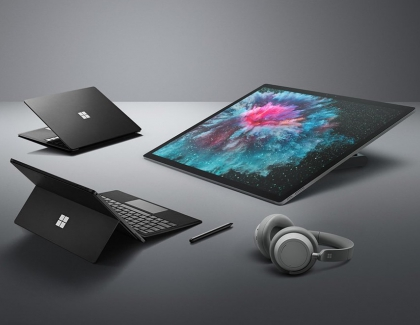Microsoft Unveils Surface Pro 6, Surface Laptop 2, Surface Studio 2 and Surface Headphones