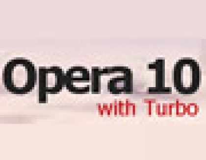 Opera 10 Launches With Turbo Mode