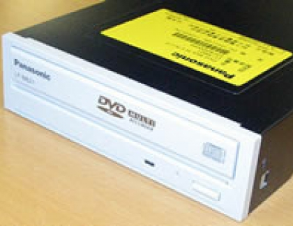 Panasonic announces 3X DVD-RAM Multi DVD recorder
