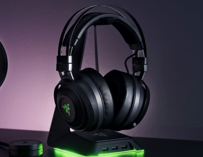 Razer Announces Nari Wireless Gaming Headset Family, With Flagship Model to Support HyperSense Intelligent Haptics